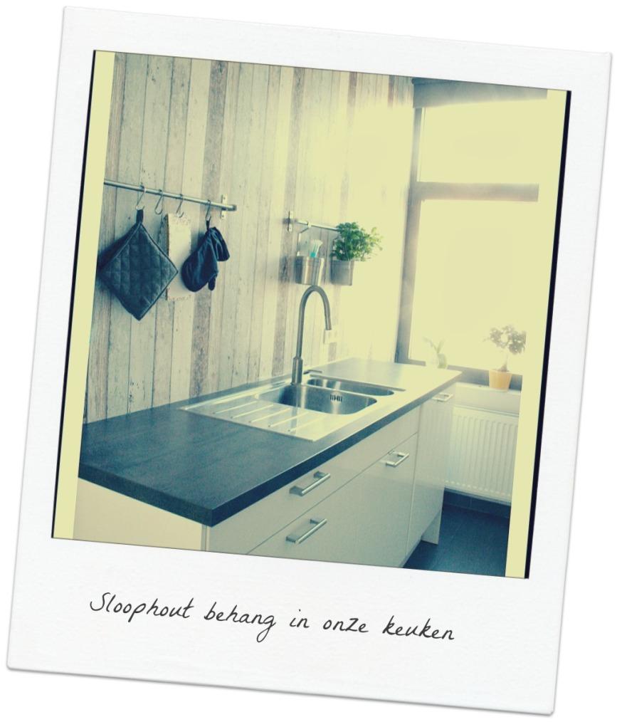 Wallpaper reclaimed wood Kitchenpg