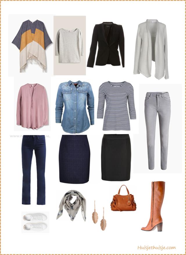 huisjethuisje.com - capsule wardrobe - fall - herfst - jeans - navy - esprit - inwear