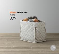Ikea - Skubbare - opbergmand