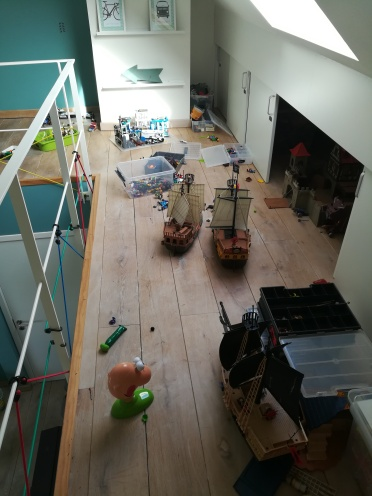 Huisjethuisje-organisatie-playmobil-oorlogsveld