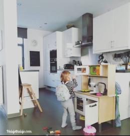 Speelgoed-keukentje